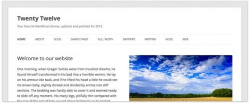Новая тема в WordPress 3.5