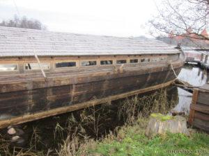 Плоскодонная лодка Витень