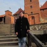 Я на лестнице в Тракайском замке