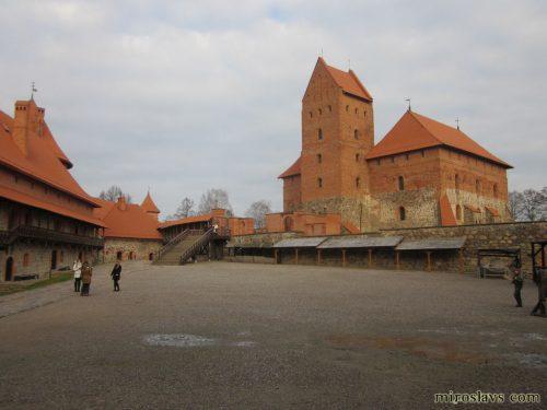 Тракайский замок изнутри